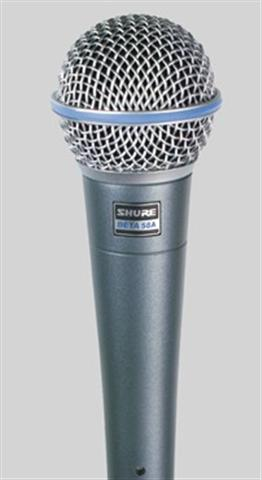 Shure BETA58A Microphone Products NJD Instrument Microphone NJD Professional 50s style microphone...
